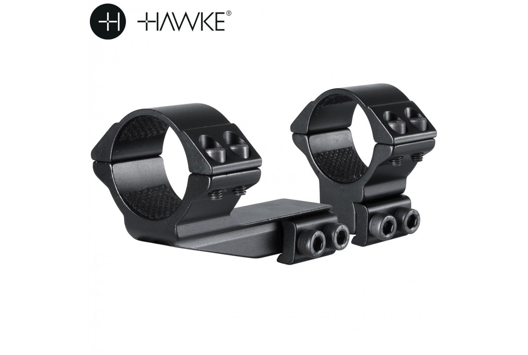 "HAWKE MONTAGE 30mm REACHFORWARD 2"" 2PCS 9-11mm HAUT"