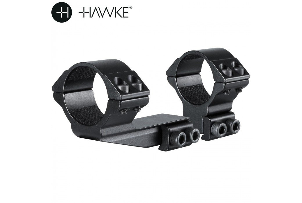 "HAWKE MONTAGEM 30mm REACHFORWARD 2"" 2PCS 9-11mm ALTA"