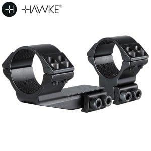 "HAWKE MONTAGEM 30mm REACHFORWARD 2"" 2PCS 9-11mm ALTA"