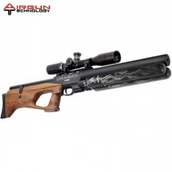 AIR RIFLE AIRGUN TECHNOLOGY URAGAN KING WALNUT