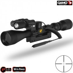 SCOPE GAMO 3-9X40 WR ZOOM VAMPIR