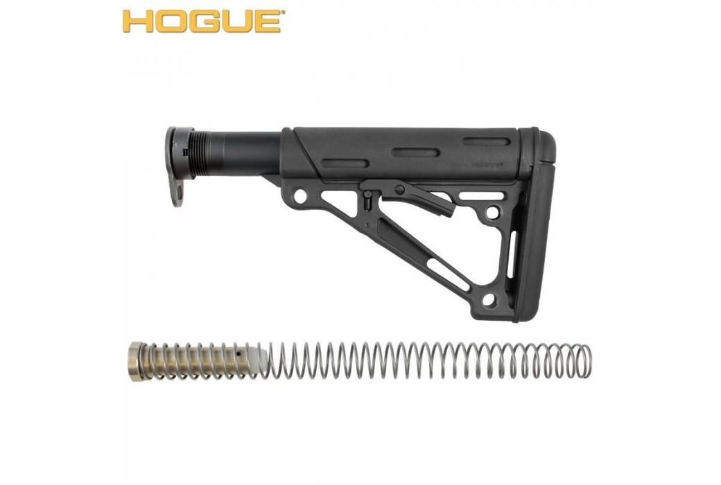 HOGUE AR-15/M-16 COLLAPSIBLE BUTTSTOCK ASSEMBLY NOIR