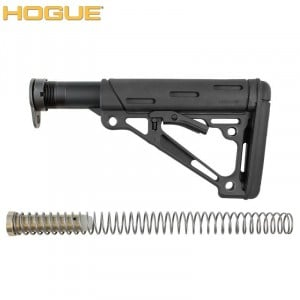 HOGUE AR-15/M-16 COLLAPSIBLE BUTTSTOCK ASSEMBLY BLACK