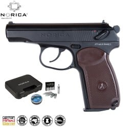 AIR PISTOL PELLET NORICA N.A.C. 2020 FULL METAL PACK