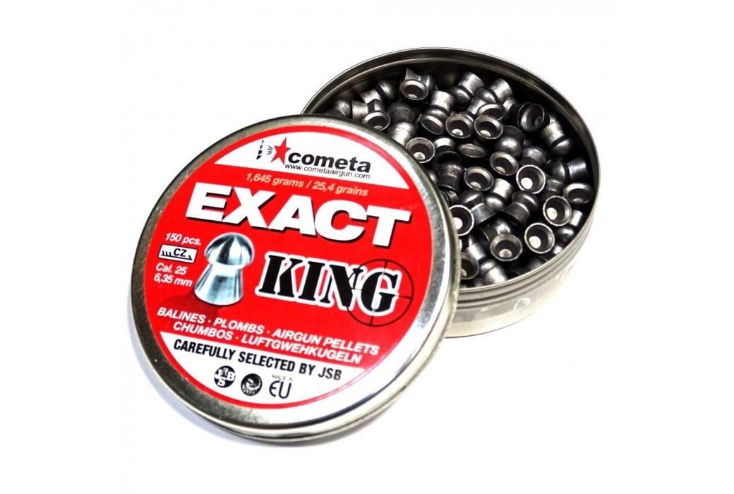 BALINES JSB EXACT KING 150pcs 6.35mm (.25)