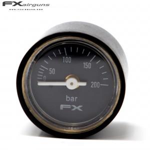 FX MANÓMETRO PRESIÓN 28mm 1/8 IMPACT MKII 0-200BAR
