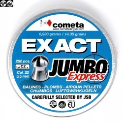 Air gun pellets JSB EXACT EXPRESS JUMBO 250pcs 5.52mm (.22)