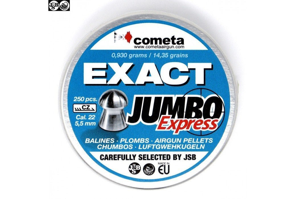 Air gun pellets JSB EXACT EXPRESS JUMBO 250pcs 5.52mm (.22)