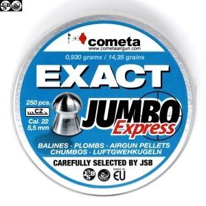 MUNITIONS JSB EXACT EXPRESS JUMBO 250pcs 5.52mm (.22)