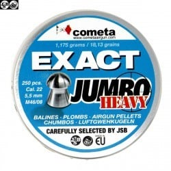 MUNITIONS JSB EXACT HEAVY JUMBO 250pcs 5.52mm (.22)