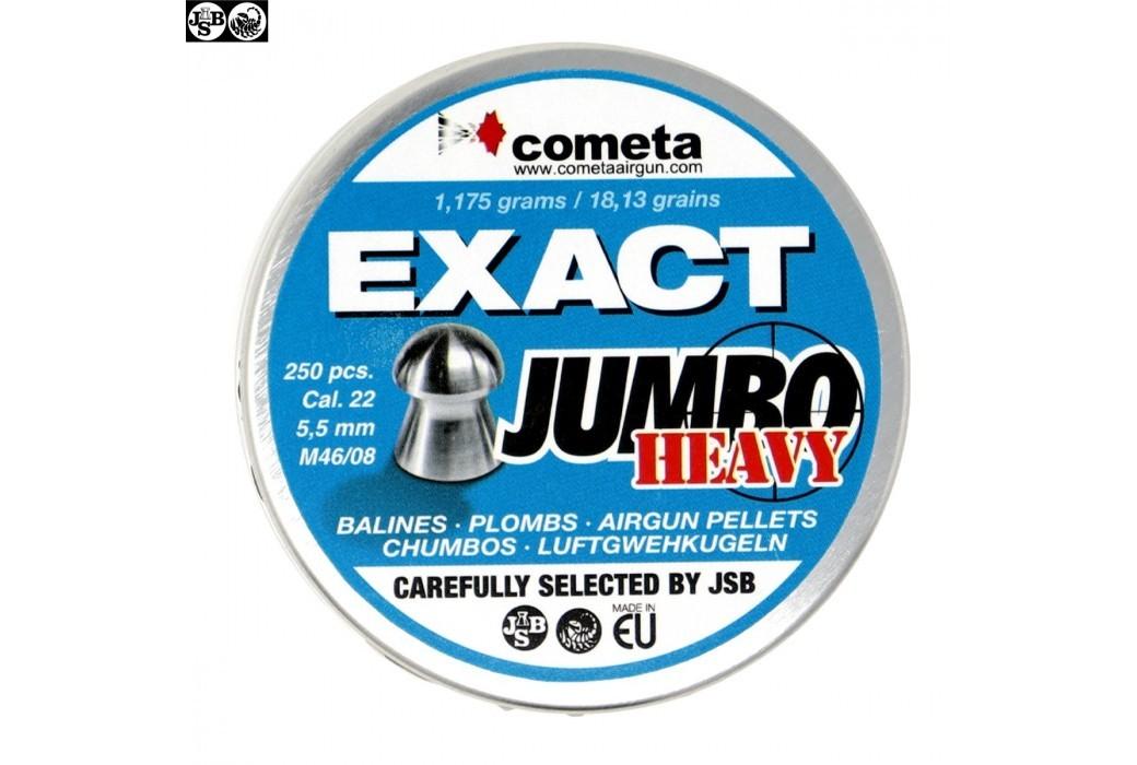 BALINES JSB EXACT HEAVY JUMBO 250pcs 5.52mm (.22)