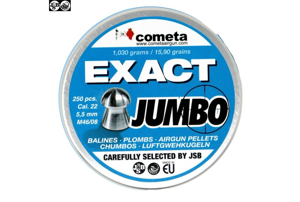 Air gun pellets JSB EXACT JUMBO 250pcs 5.52mm (.22)