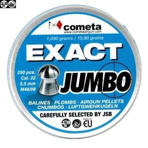 MUNITIONS JSB EXACT JUMBO 250pcs 5.52mm (.22)