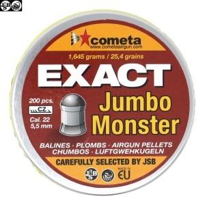 MUNITIONS JSB EXACT MONSTER JUMBO 200pcs 5.52mm (.22)