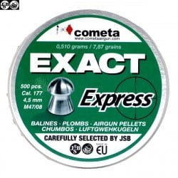 BALINES JSB EXACT EXPRESS 500pcs 4.52mm (.177)