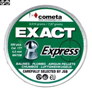 MUNITIONS JSB EXACT EXPRESS 500pcs 4.52mm (.177)