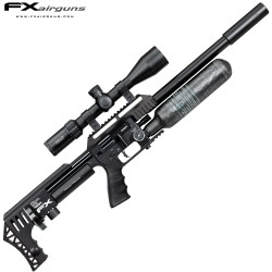 PCP AIR RIFLE FX IMPACT X MKII POWER PLENUM BLACK