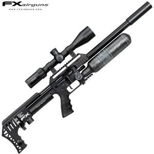 PCP AIR RIFLE FX IMPACT X MKII POWER PLENUM BLACK