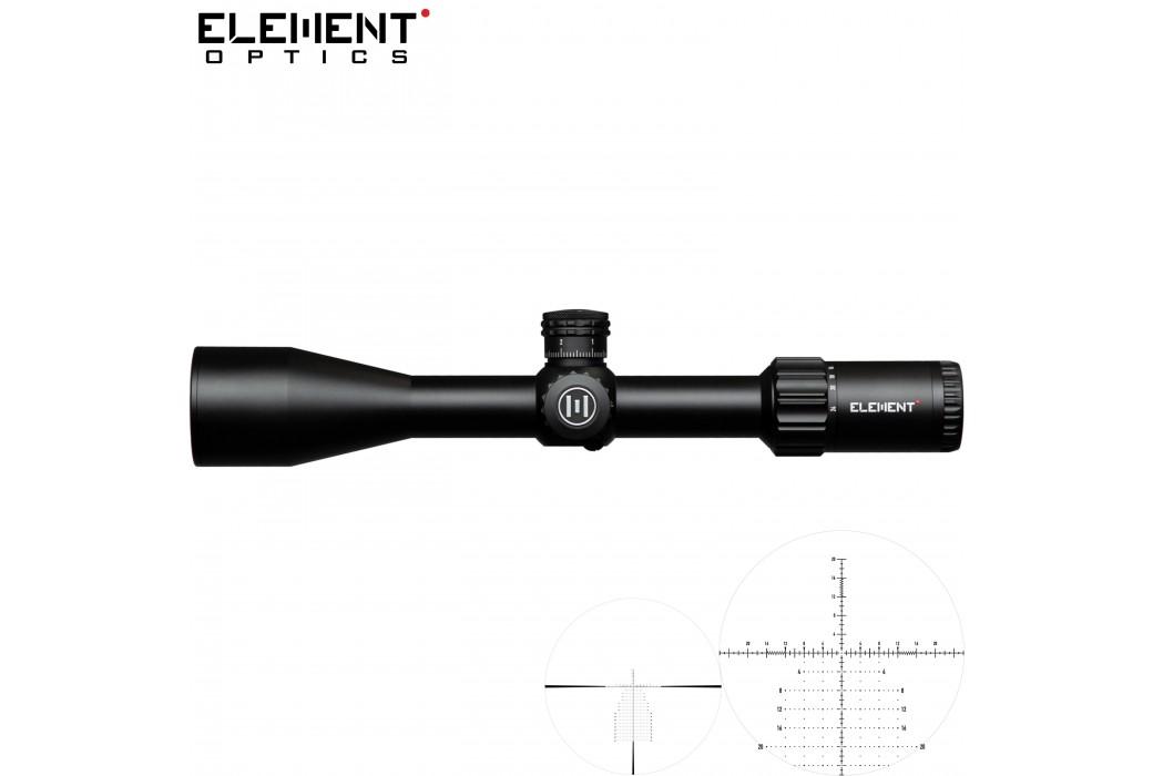 SCOPE ELEMENT OPTICS HELIX 6-24X50 APR-2D FFP MOA