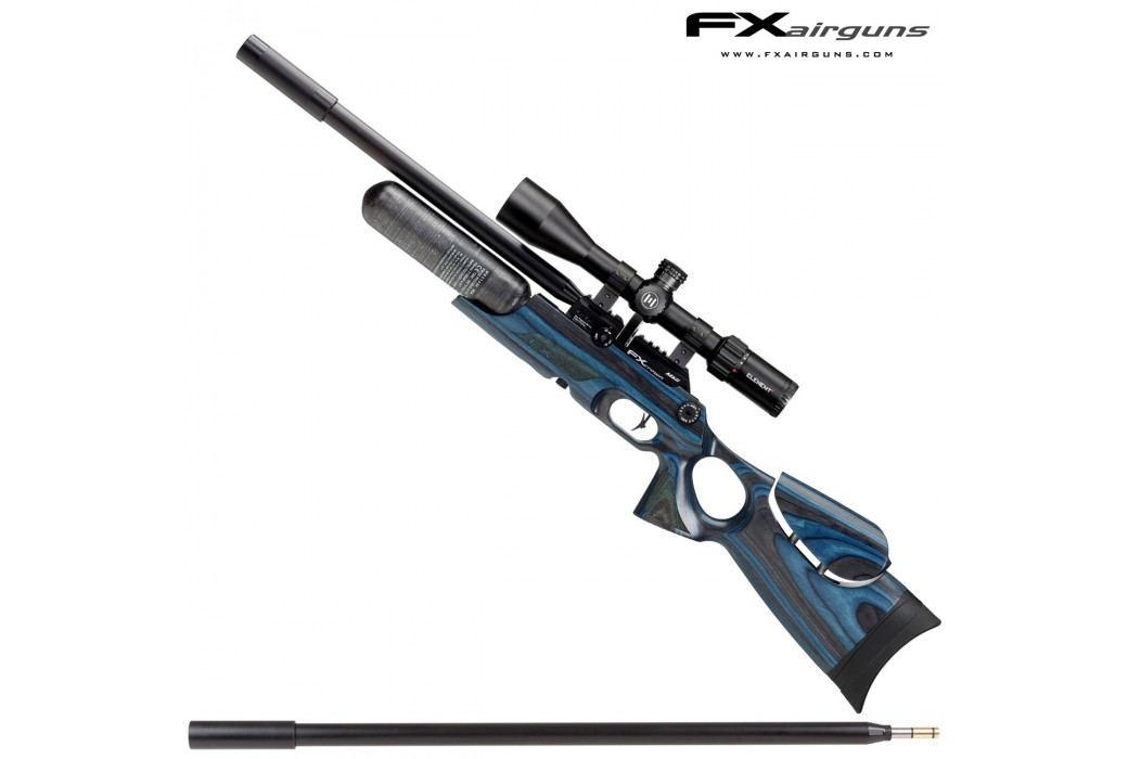 CARABINA PCP FX CROWN MKII CONTINUUM BLUE LAMINATE
