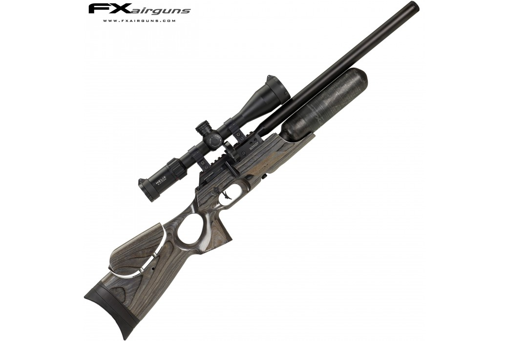 PCP AIR RIFLE FX CROWN MKII BLACK-PEPPER