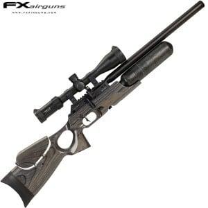 PCP AIR RIFLE FX CROWN MKII BLACK-PEPPER