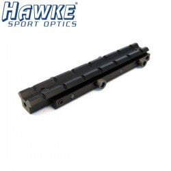 HAWKE 1PC ADAPTER 11mm-3/8 WEAVER