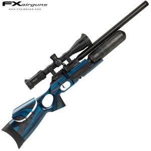 PCP AIR RIFLE FX CROWN MKII BLUE LAMINATE