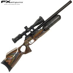 PCP AIR RIFLE FX CROWN MKII GREEN LAMINATE