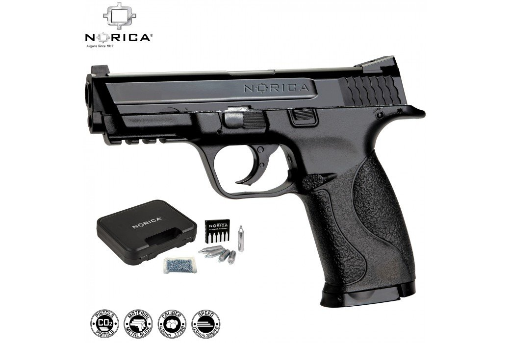 AIR PISTOL NORICA N.A.C. 1703 PACK (M&P 40 Replica)