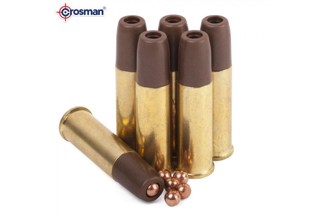 CROSMAN REMINGTON 1875 6 BALAS P/ BB'S 4.50mm