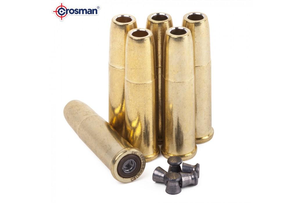 CROSMAN REMINGTON 1875 6 BALAS P/ CHUMBO 4.50mm