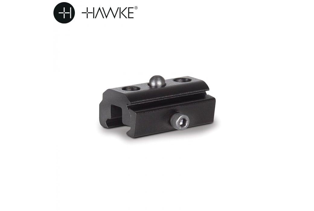 HAWKE ADAPTEUR BIPIED WEAVER CLAMP P/ STUD