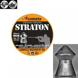 MUNITIONS JSB STRATON 500pcs 4.50mm (.177)