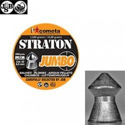 MUNITIONS JSB STRATON JUMBO 250pcs 5.50mm (.22)