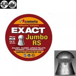 MUNITIONS JSB EXACT RS JUMBO 250pcs 5.52mm (.22)