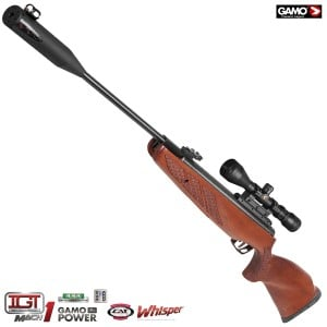 CARABINE À PLOMB GAMO HUNTER 1250 GRIZZLY PRO WHISPER IGT