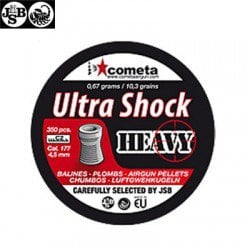 CHUMBO JSB ULTRA SHOCK HEAVY 350pcs 4.52mm (.177)
