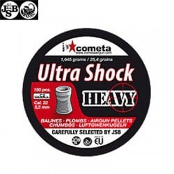 JSB ULTRA SHOCK HEAVY 150pcs 5.52mm (.22)