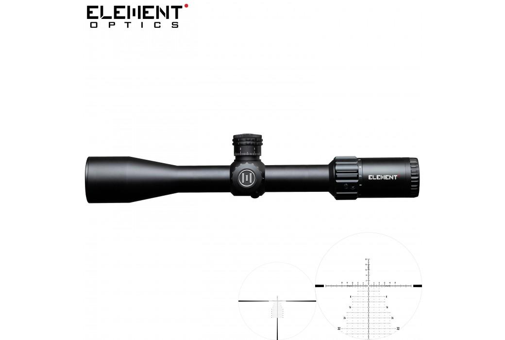 SCOPE ELEMENT OPTICS HELIX 4-16X44 APR-2D FFP MOA