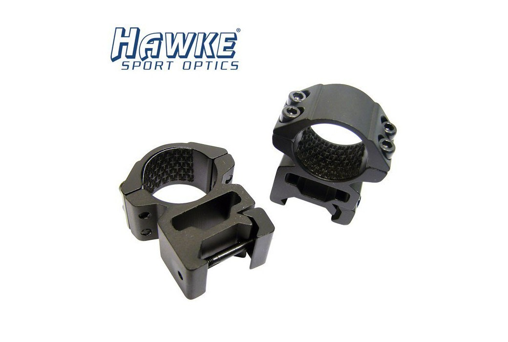HAWKE Two-Piece Mount 30mm HIGH WEAVER