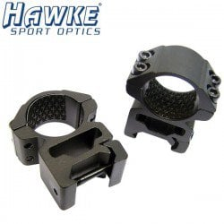 "HAWKE Two-Piece Mount 1"" WEAVER HIGH"