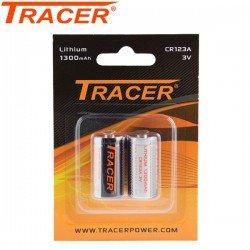 TRACER PILHAS CR123A 2PCS