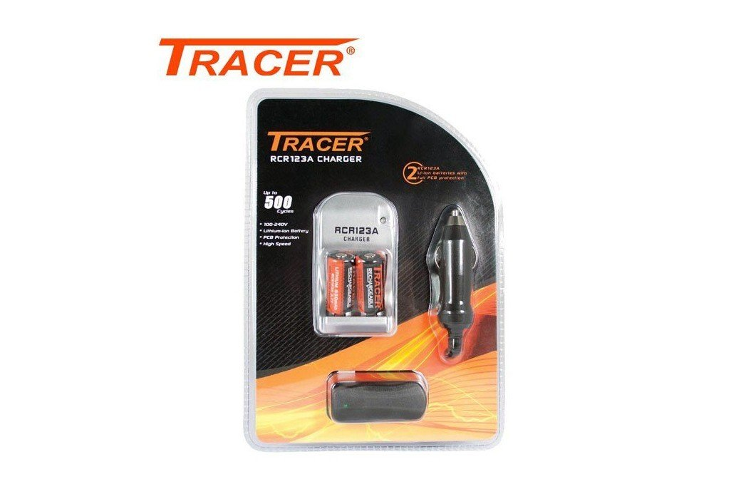 TRACER RCR123A CHARGER
