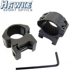 "HAWKE Two-Piece Mount 1"" WEAVER MEDIUM"