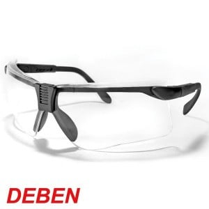 DEBEN SHOOTING SAFETY GLASSES CLEAR