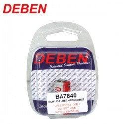 DEBEN BATERIA RCR 123A 3.7V