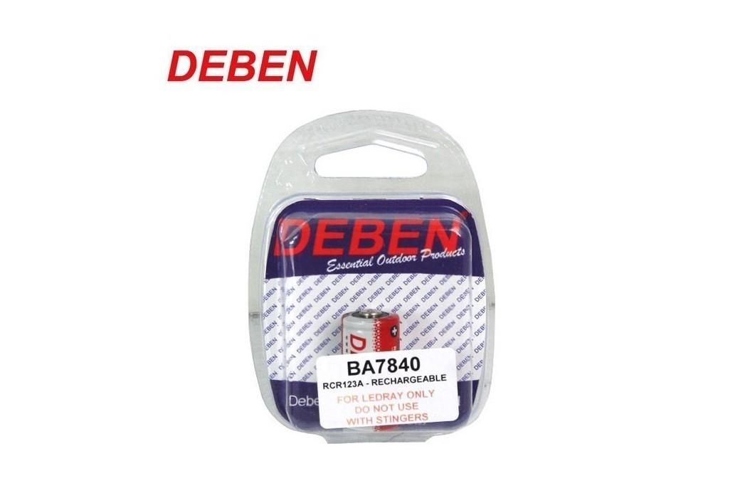 DEBEN BATTERY RCR123A 3.7V