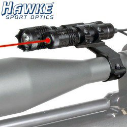 SCOPE HAWKE RED LASER+LIGHT KIT