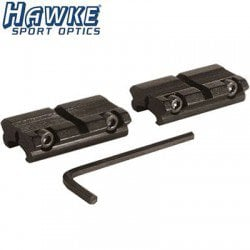 HAWKE ADAPTEUR 2PC 11mm-3/8 WEAVER